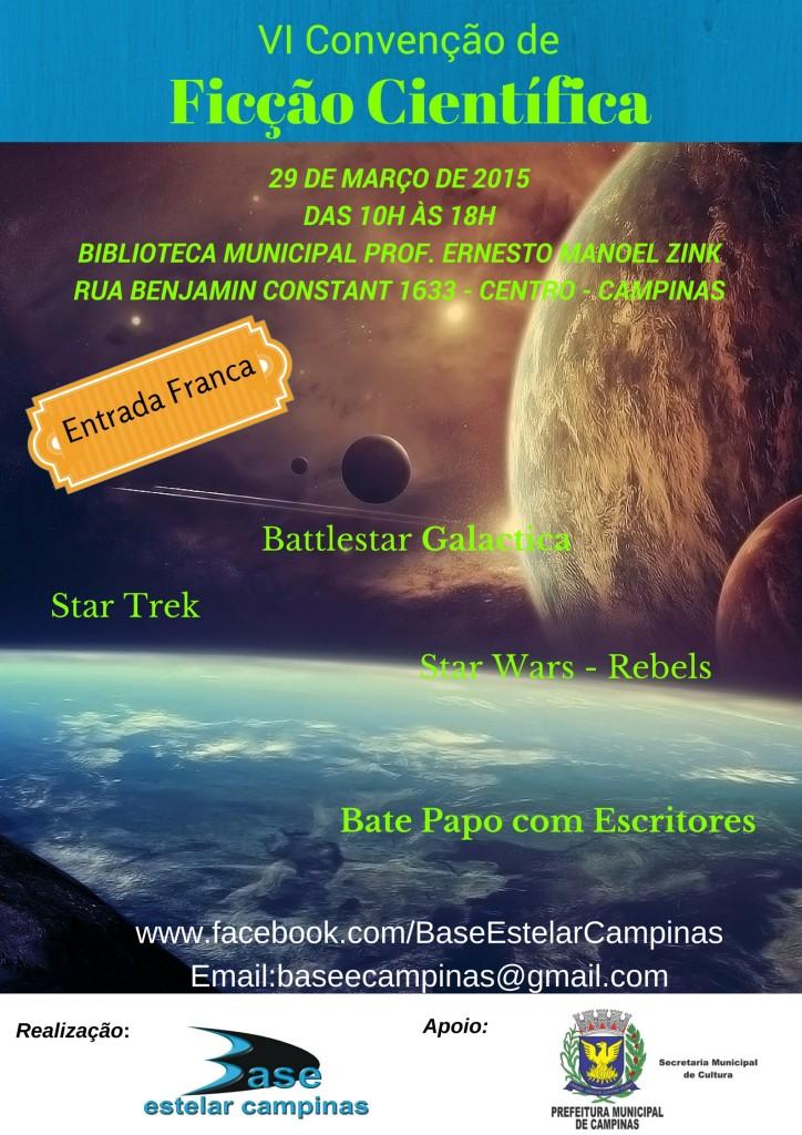 VI - Convenção de Ficção Cientifica_Março_2015